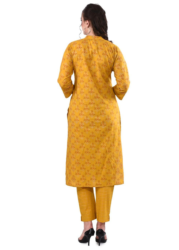 Women's Yellow Kurta