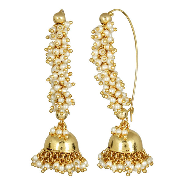 Designer Bali Style Pearl Earrings For Occasionally Or Party Wear