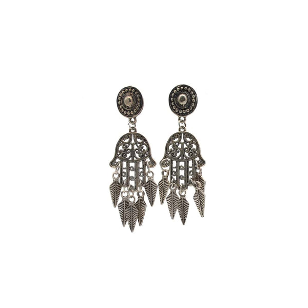 Intricate Silver Earring