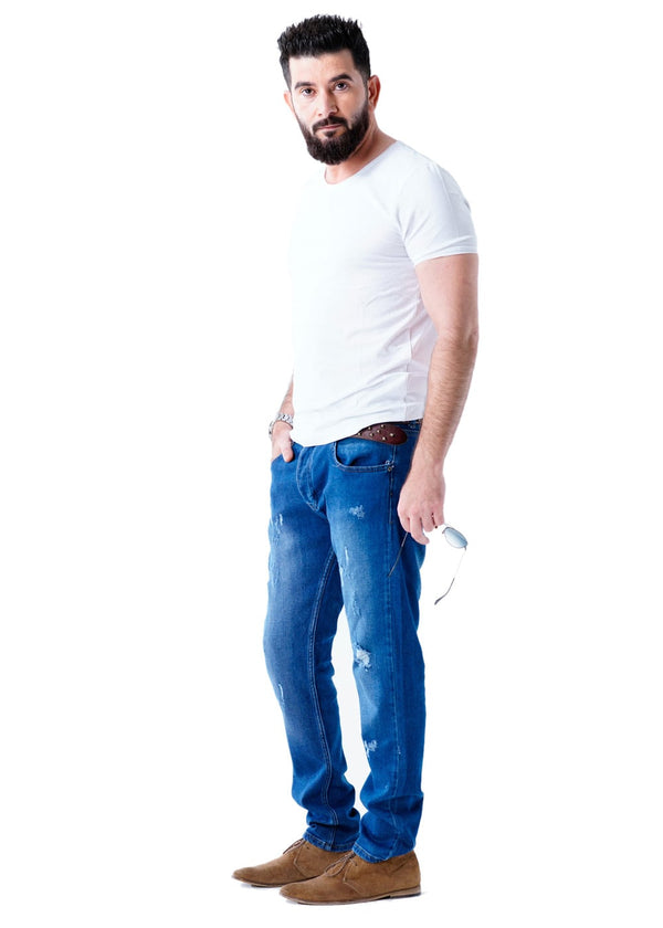 Joe & Baxx Blue Soft Denim Jeans for Men