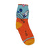 Kids Multi-Coloured Above Ankle-Length Cotton Socks