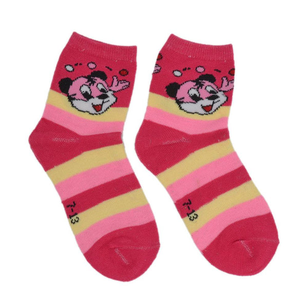 Kids Stripe Above Ankle-Length Stylish Cotton Socks