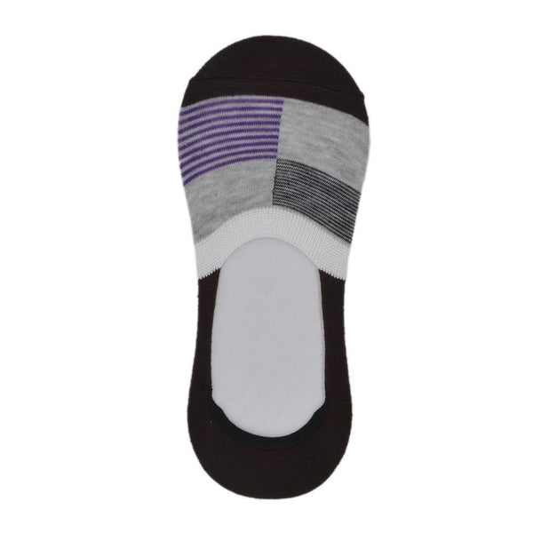 Men Multi-Coloured Patterned Ultra Low No-Show Socks