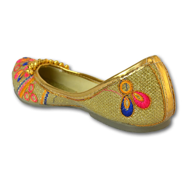 Multi-Color Ethnic Embroidered Mojaris