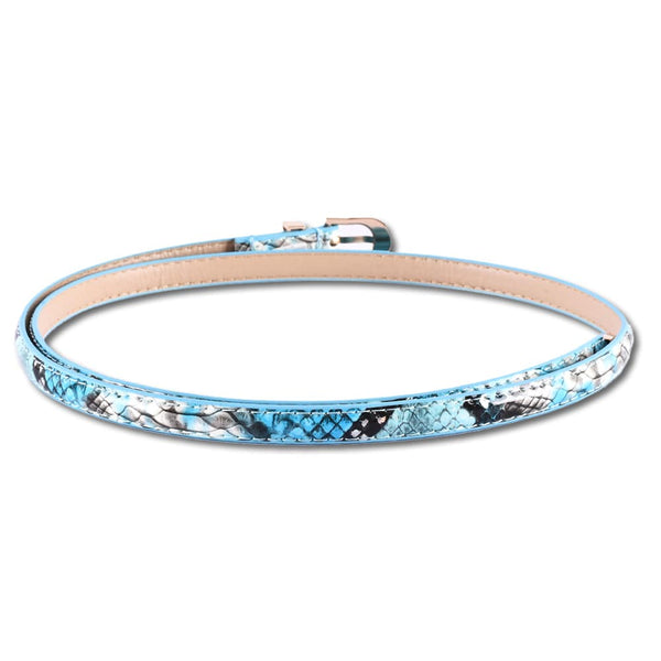Multi Color Leather Belt For Women