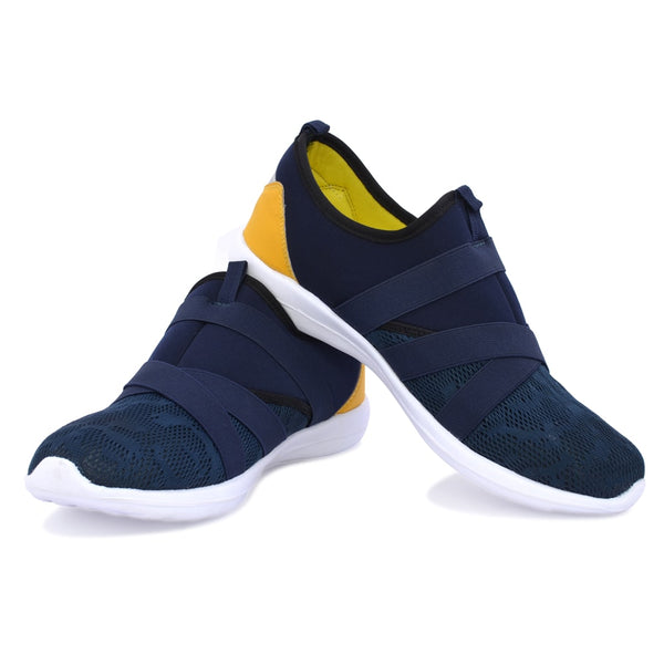 Blue-Yellow Sneakers