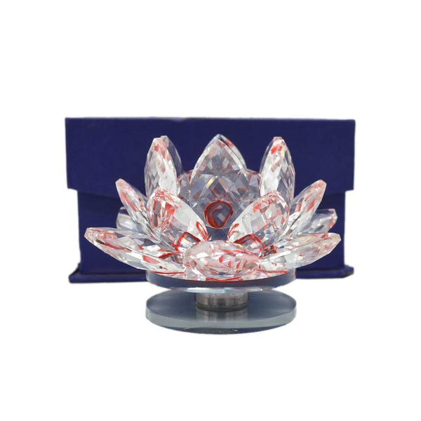 Orange Big Crystal lotus flower with box