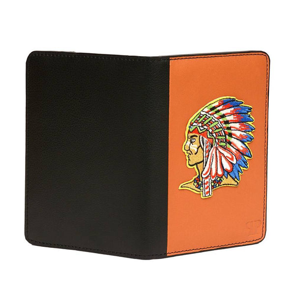 Tan Tribal Indian Unisex Passport Holder