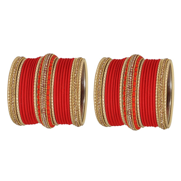 Work Set Of 46 Red Bangles Sets