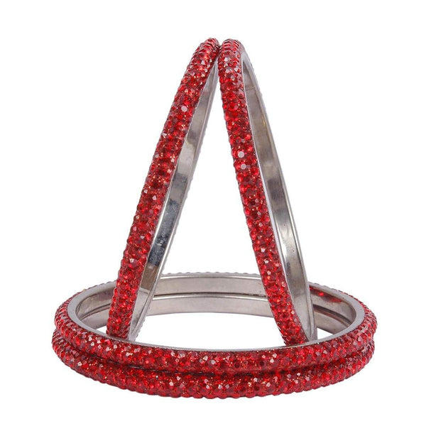 Red Bangles For Women