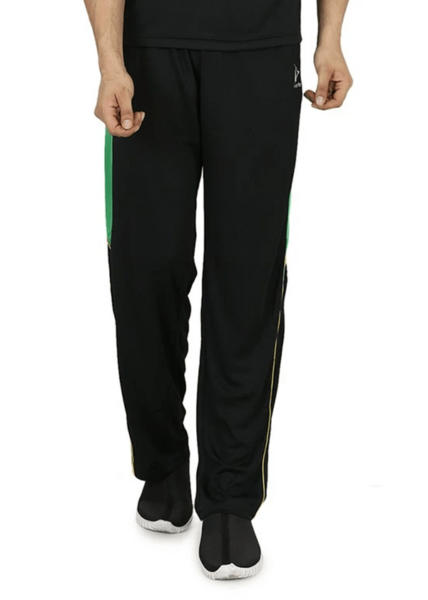 Slim Fit Track Pants for Men - Black