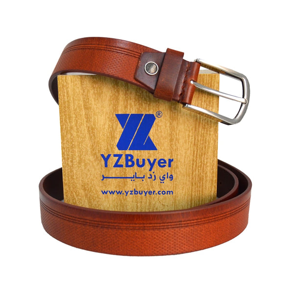 Tan Pure Leather Belt for Men