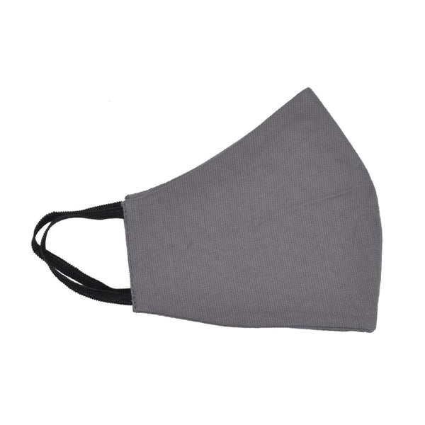Unisex Grey Reusable Protective Face Mask