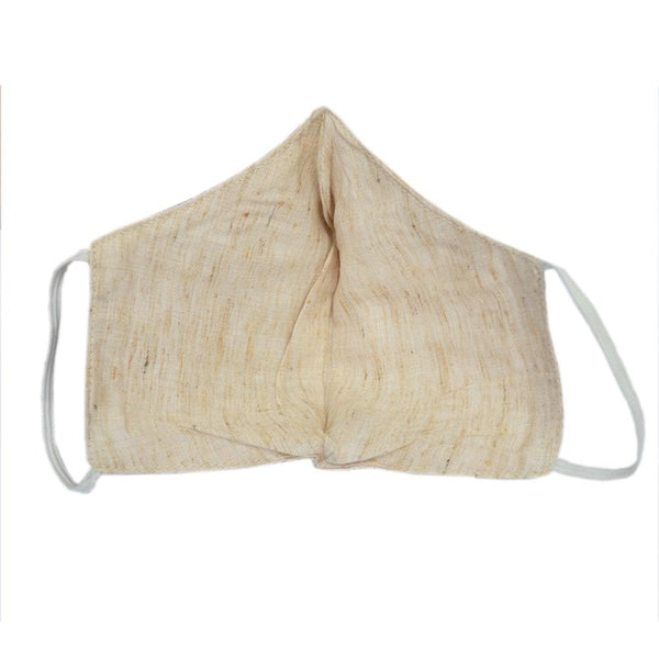 Unisex Wheat Solid Reusable Protective Outdoor Face Mask