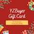 YZBuyer Gift Card