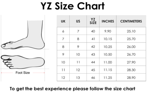 YZFeet Mens Formal Leather Rough Look Shoes