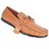 YZFeet Mens Formal Leather Loafer Shoes - Tan