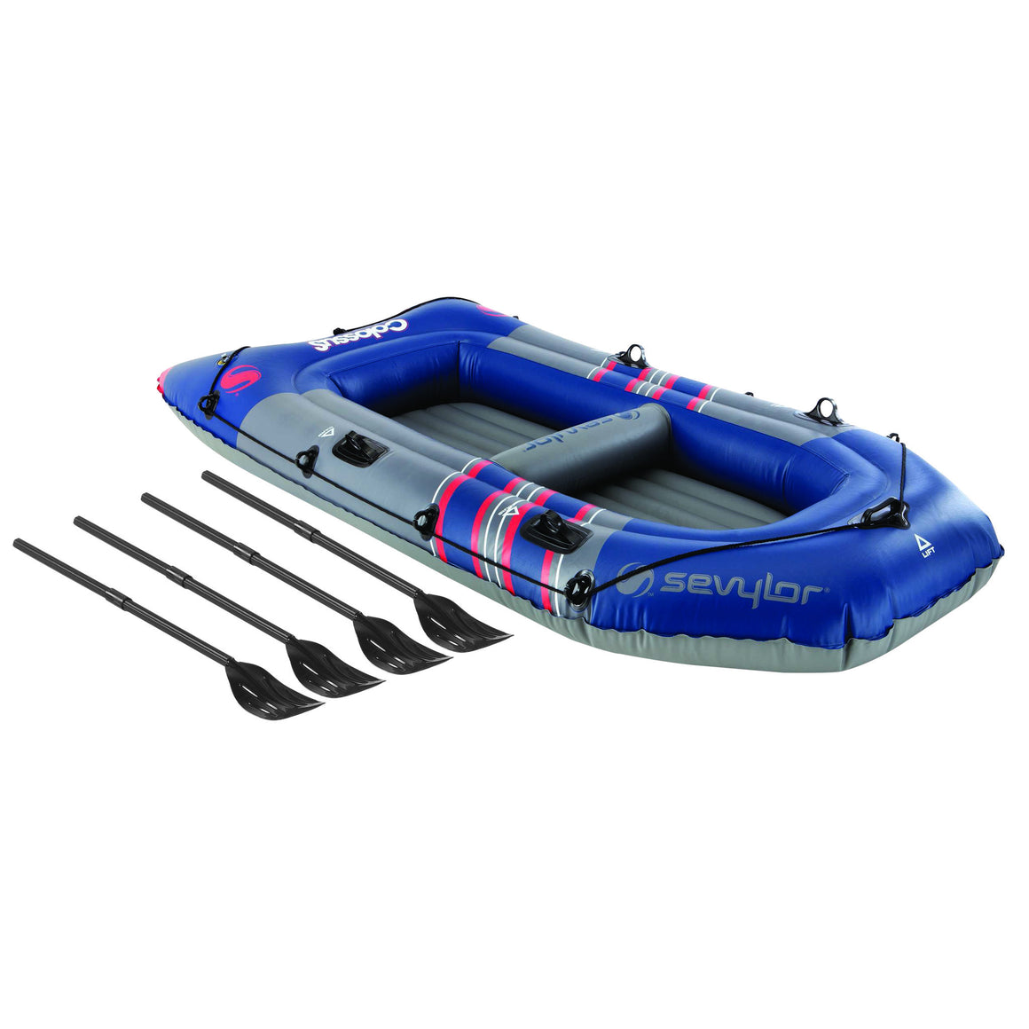 Sevylor (4 Person) Colossus Boat (with Oars) - Freedom Inflatables