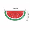 180*90cm Water Toys Inflatable Half Mattress Watermelon for Summer Holiday Inflatable Swimming Pool Party Favor Air Mattress