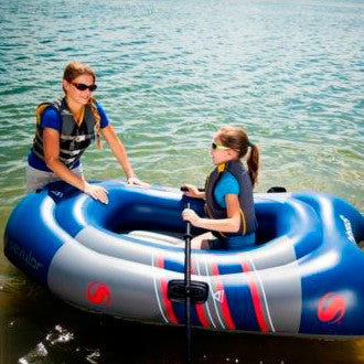 Sevylor (2 Person) Colossus Boat (with Oars) - Freedom Inflatables - 3