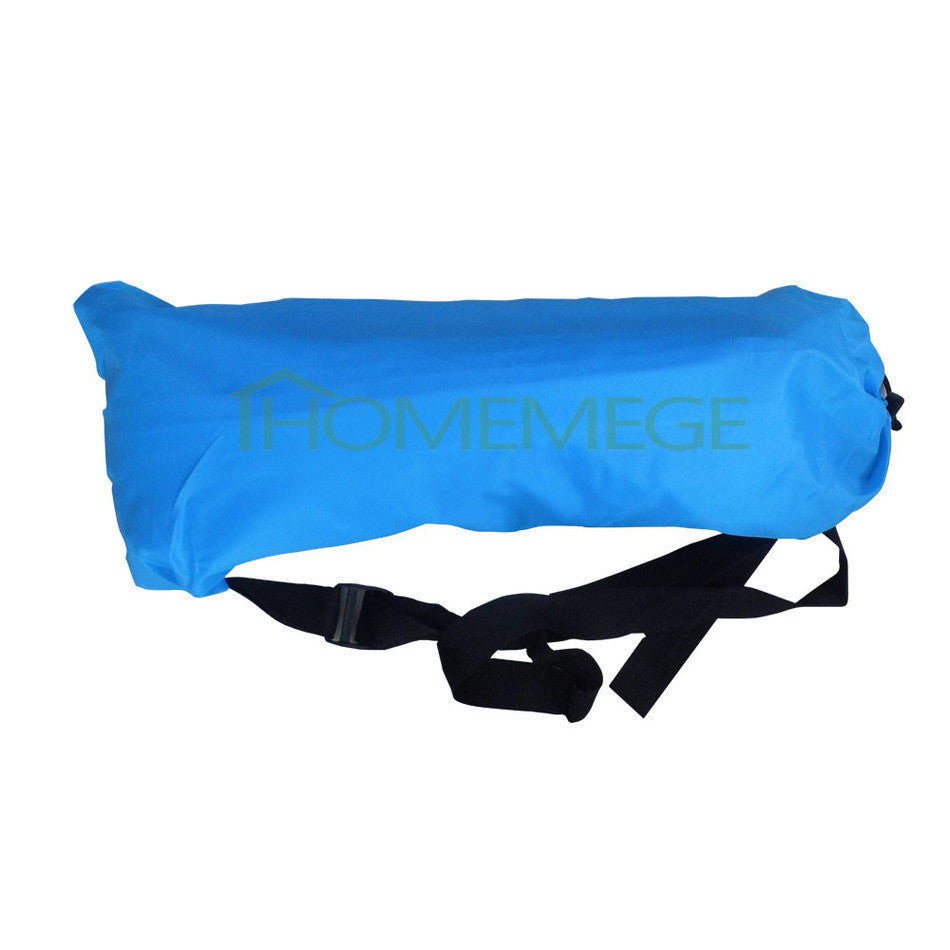2016 Fast Inflatable Camping Sofa banana Sleeping Bag Hangout Nylon Air Bed chair Couch Lounger Saco de dormir