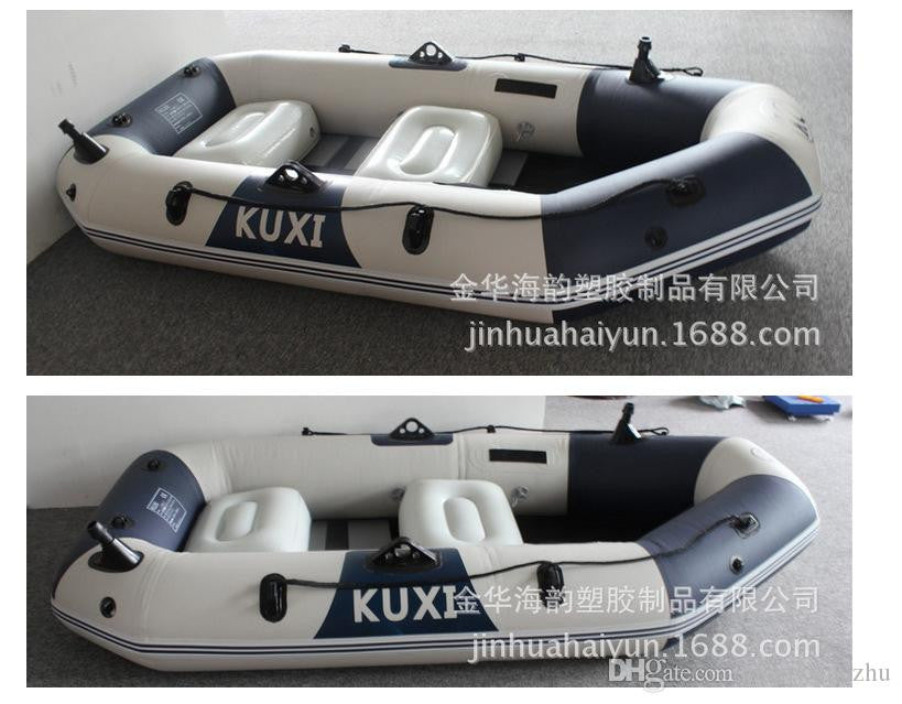 3 Person inflatable rubber fishing boat china/barcos/bateau/boat fishing/rubber inflatable boat Paddle Set PVC Hovercraft Air-Cushion Vessel
