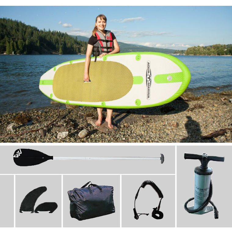 300*75.5*10cm AQUA MARINA SPK1 inflatable sup board stand up paddle board inflatable surf board surfboard inflatable boat kayaK