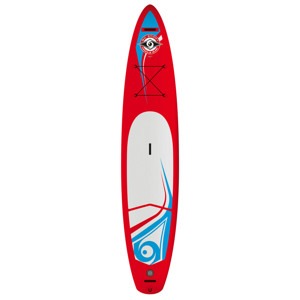 "BIC Sport SUP 12'6"" x 30""Wing Air Touring Board - Freedom Inflatables"