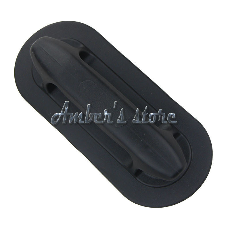 Free Shipping 2PCS 22.2cm Black Lifting Grab Handle/Cleat Watercraft Parts for Kayak Inflatable Raft Dinghy Boat Accessories