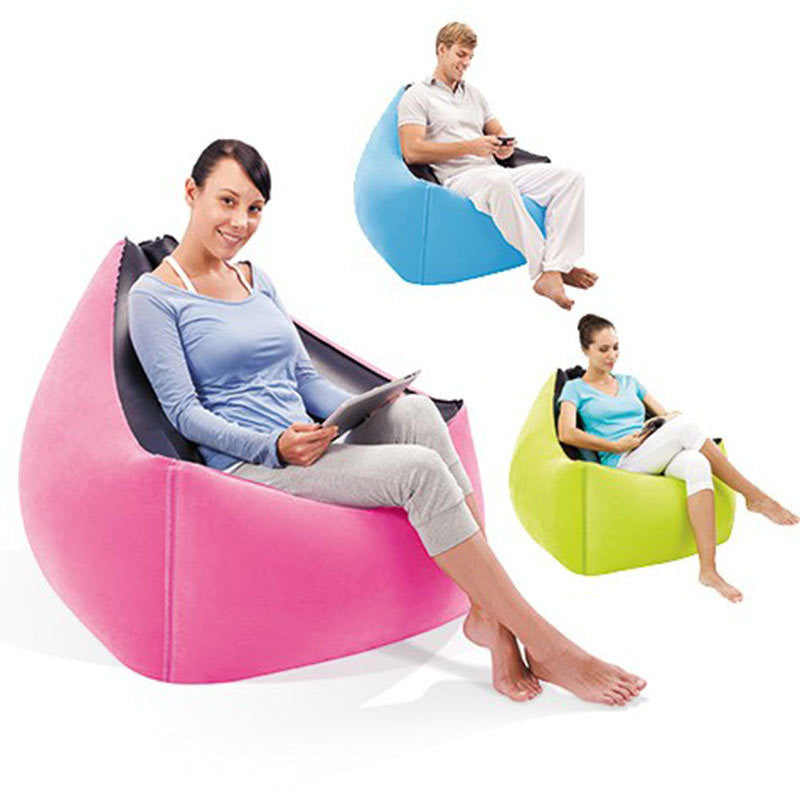 Hot Sale  Fast  Laybag Air Sofa Chair Portable Intex Modern Air Sofa Set Living Room Furniture Lazy inflatable Sofa Chair