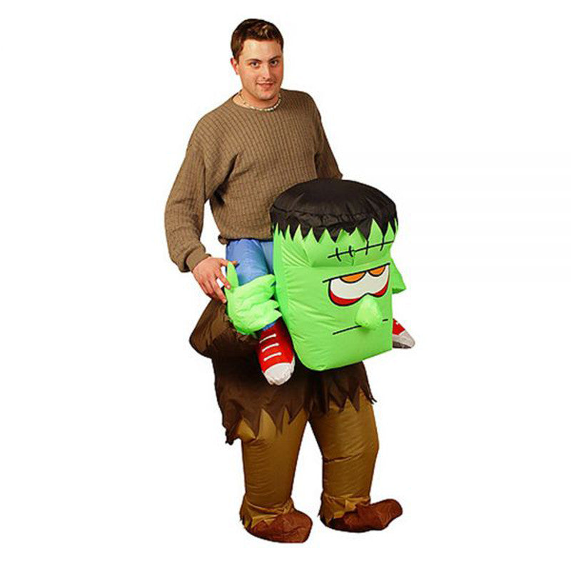 Inflatable halloween The Monster Game Clothing for adults party fancy dress disfraces costume for man