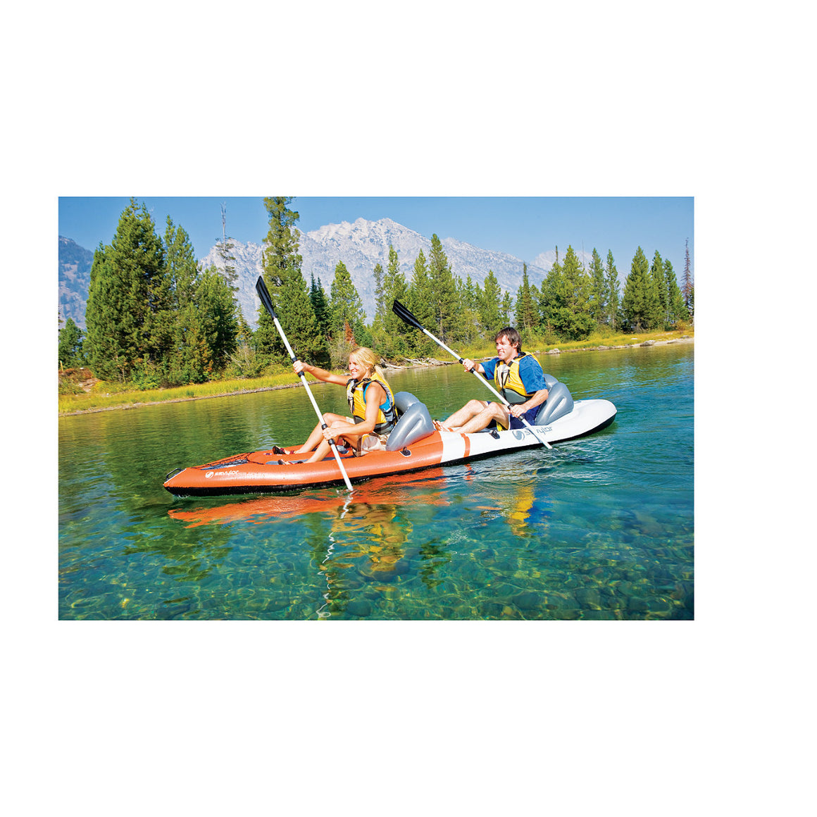 Sevylor (2 Person) Sit-on-Top Kayak - Freedom Inflatables - 3
