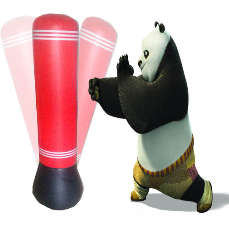 New Inflatable 1.5 Meter Adults Kids Outdoor Sport Boxing Wreak Bop Bag Training Stand Up Toy Punching Poly