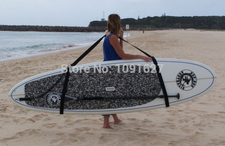SUP boards Big Carrying Strap free shipping belt llavero patins kitesurf inflatable surfboard paddle pranchas de surf Black