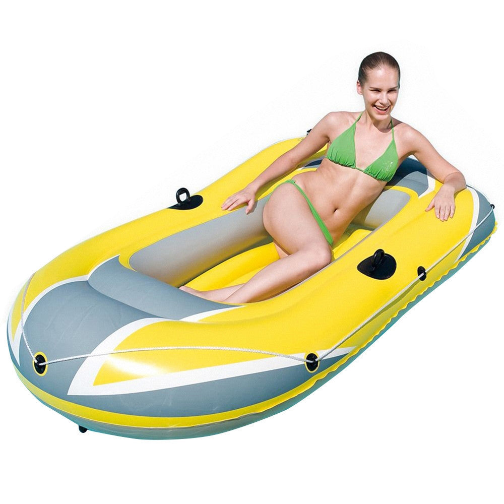 "Bestway Hydro-Force Inflatable Boat Raft 103"" x 57"" - Freedom Inflatables - 3"