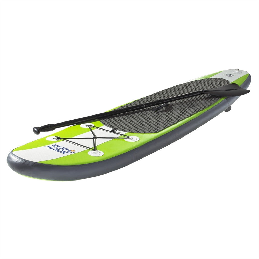 North Gear Inflatable SUP Stand up Paddle Board Package inc Paddle, Pump, Bag
