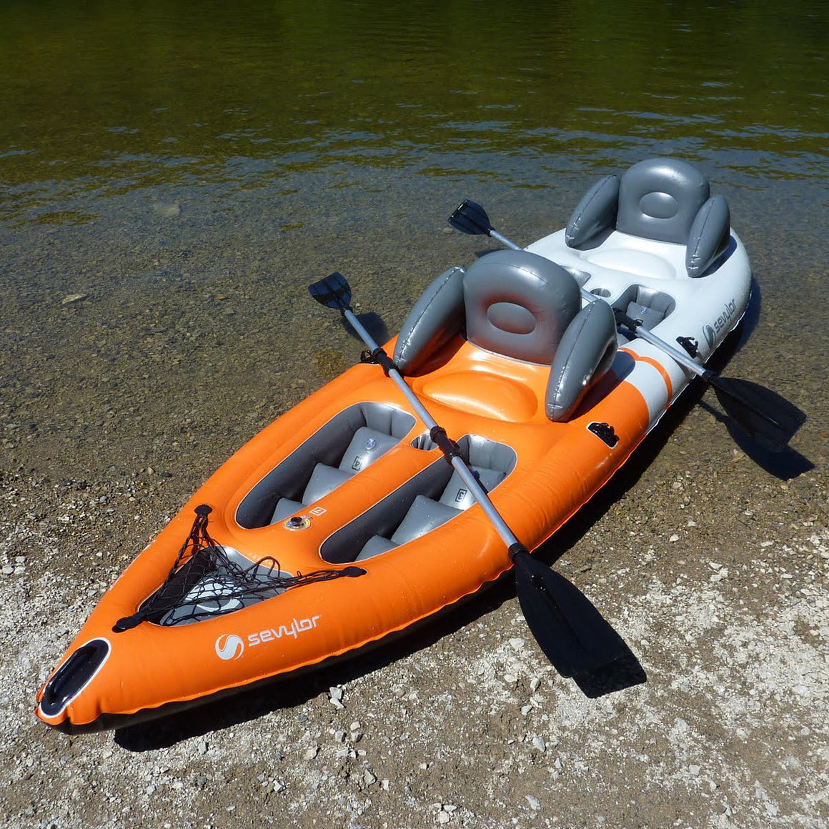 Sevylor (2 Person) Sit-on-Top Kayak - Freedom Inflatables - 2