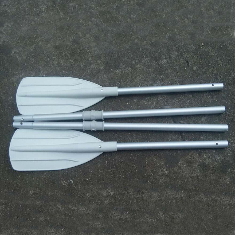 1 Pair 157cm  Water-skiing Boats Paddles Aluminum Detachable Float Afloat Oars Paddles Boat Kayak  Inflatable Boat Oars