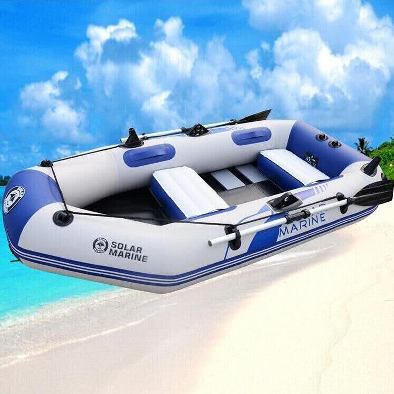 Boats Rowing wear 3 adult  hard bottomed inflatable boat inflatable rubber boat raft  kayak  drifting inflatable fishing raft