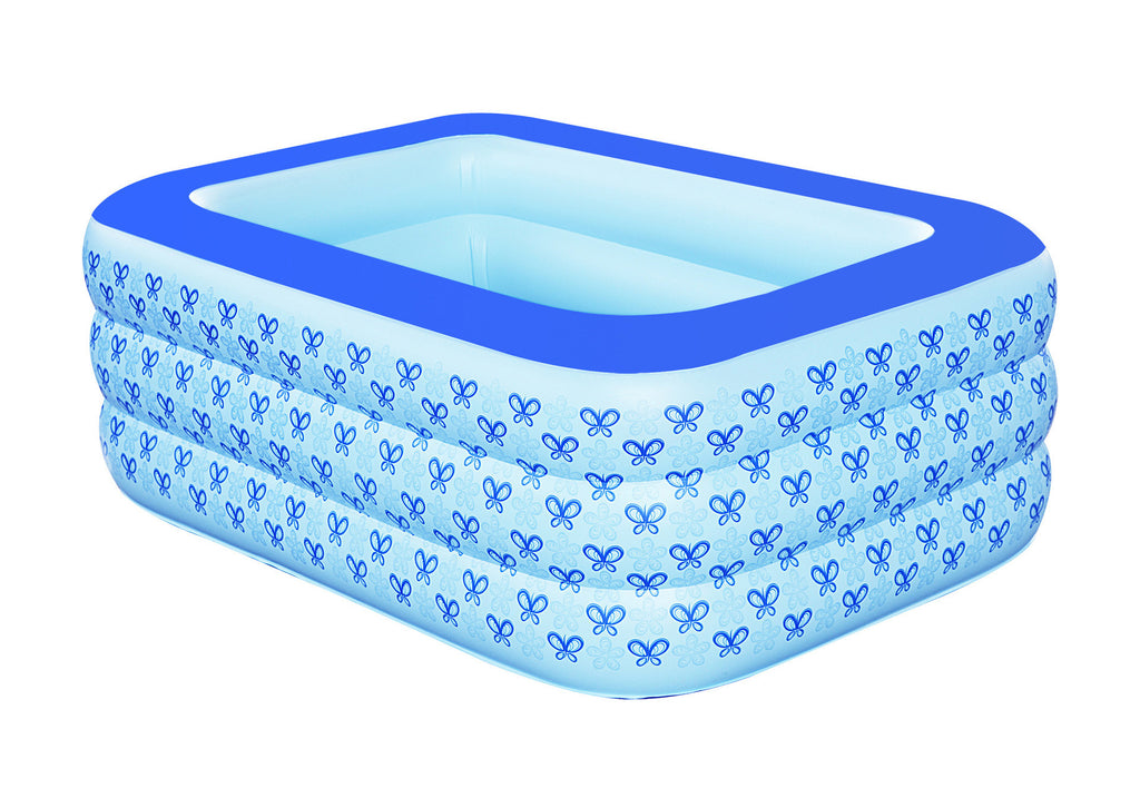 New family inflatable bathtub thickening insulation baby pool bath barrel washbasin, plastic bucket folding bath barrel