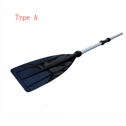1 pair Removable Thicken PVC Plastic Paddle Aluminium Alloy Boat Paddles Oar For Inflatable Boat Dinghy Kayak