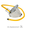Inflatable Boat Kayak Raft High Pressure Foot Pump Air Pump with Hose Adaptor