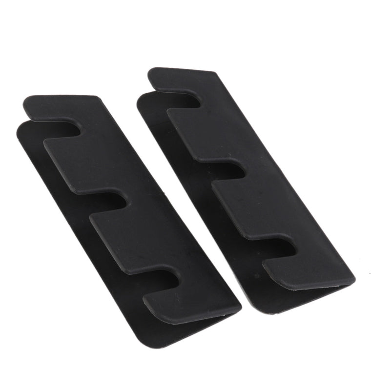 Durable Outdoor Boat Seat Hook Clip for Inflatable Boat Rib Dinghy Kayak 2Pcs Black Water Sports Fishing Rowing Boats Accessory