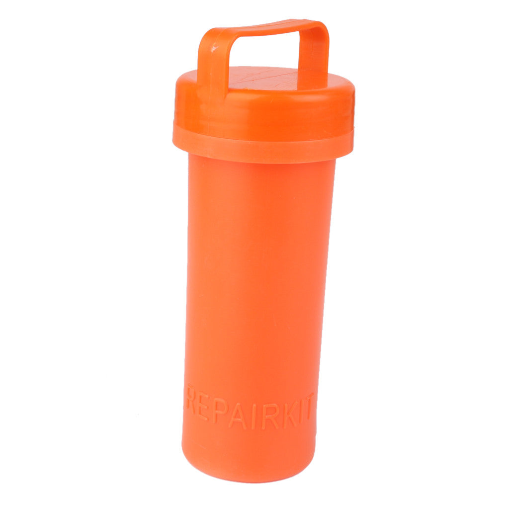 Hot High Quality PVC Repair Kit Container Bucket for Kayak Inflatable Boat Orange Rowing Boats Parts Supplies Accessories