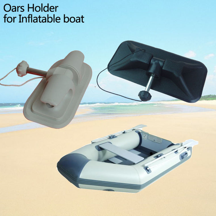 2Pcs Durable Oar Lock Patch White for Kayak Inflatable Raft Dinghy Boat Accessory
