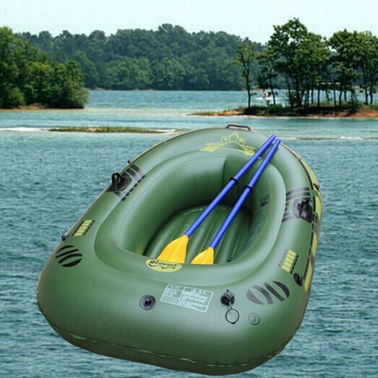 180 * 100CM 2 Person Inflatable Boat Dinghy Two Thick Double Kayak Fishing Boat Drifting Cushion Assault