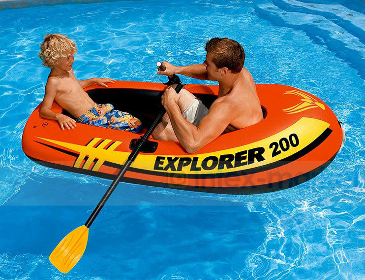 High quality  Inflatable Rowing Boats With Oars And Pump Rubber Fishing Boat Summer Water Sports