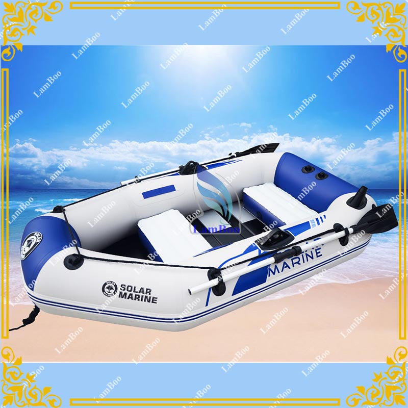 Hot Selling 3 Persons Inflatable Fishing Boat,0.7mm PVC Vinyl Rubber Boat,Inflatable Kayak for Sale