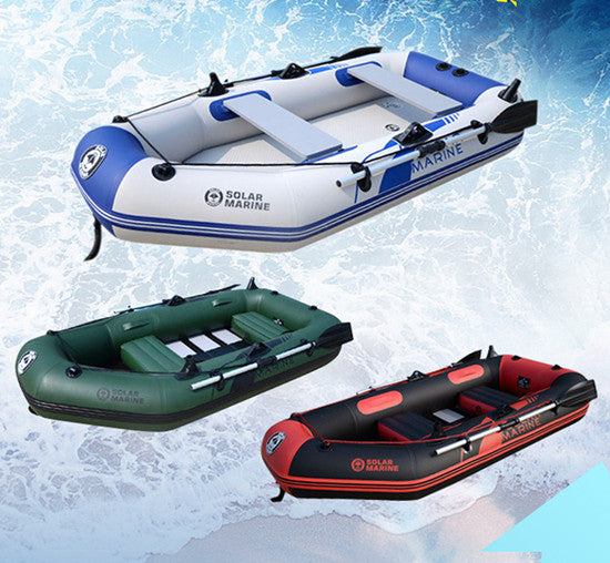 rubber boat inflatables kayak fishing boat inflatable laminated  wear-resistant pvc boat for 3~4person  With factory price