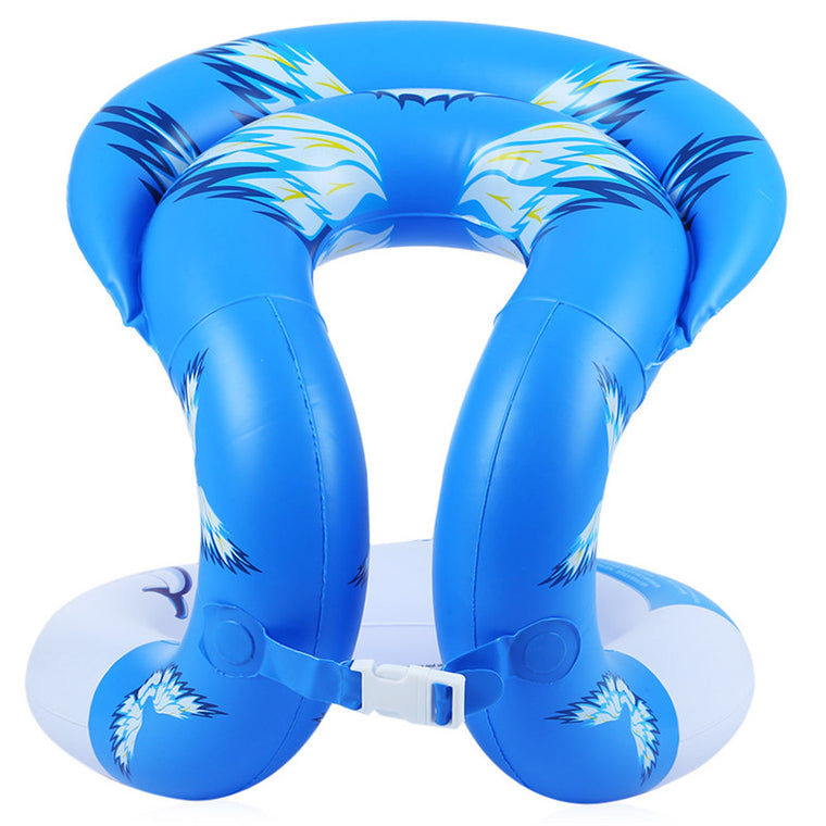 2 Colors Unisex Swimming Ring Adult Inflatable Arm Float Seat Circle Water Pool Toy
